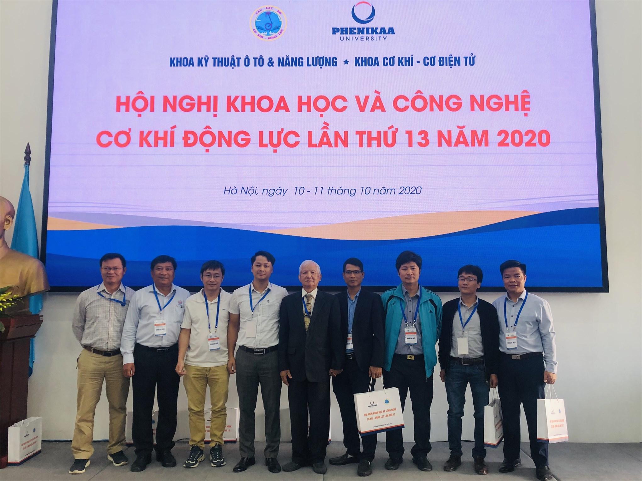 Hội nghị khoa học cơ khí động lực năm 2020 – Ngày hội của các nhà khoa học