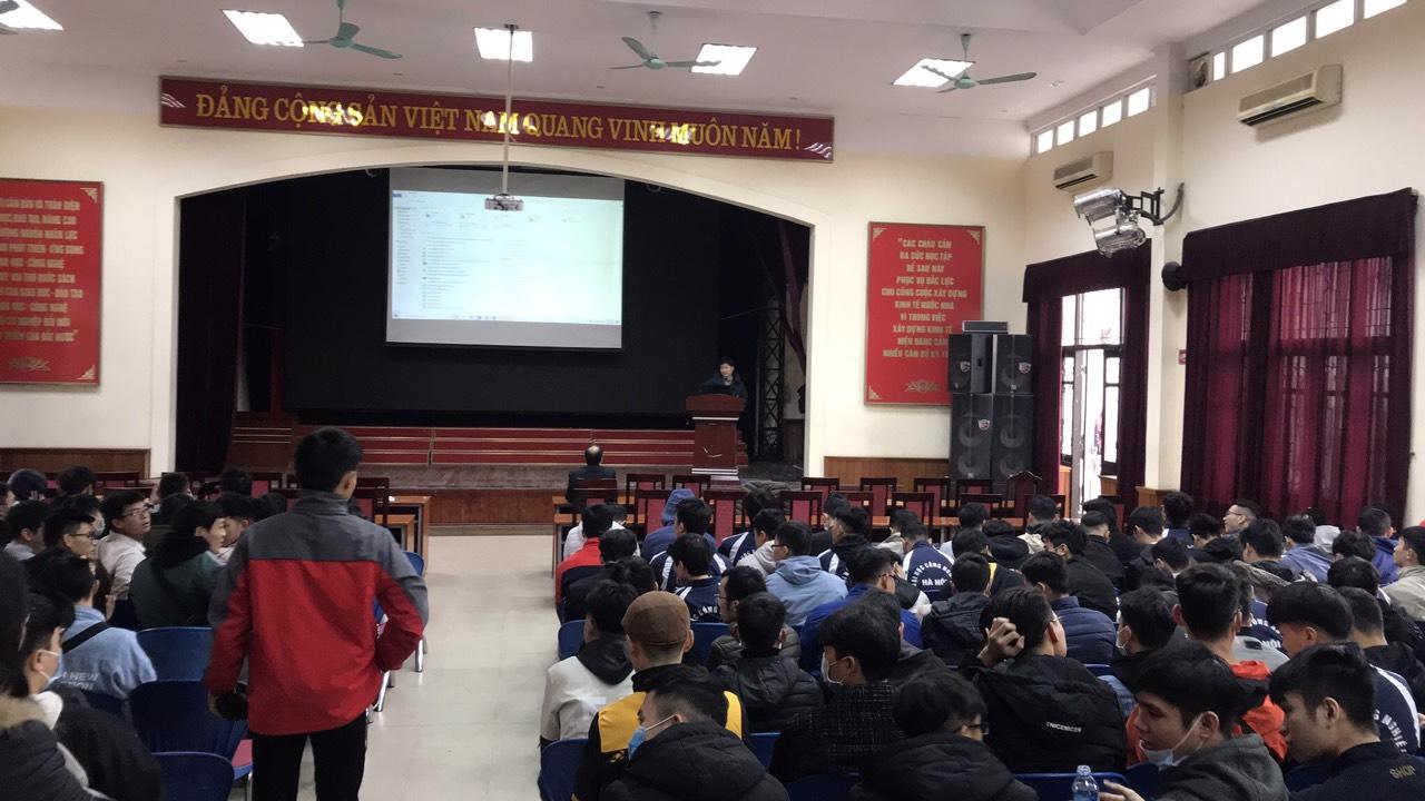 Họp cố vấn học tập các lớp ĐH K13 K14 và triển khai thực hiện kế hoạch thực tập tốt nghiệp cho sinh viên hệ ĐH K12