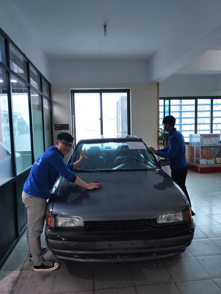 Chiến dịch 5s của Đoàn thanh niên khoa Công nghệ ô tô đón tết nguyên đán