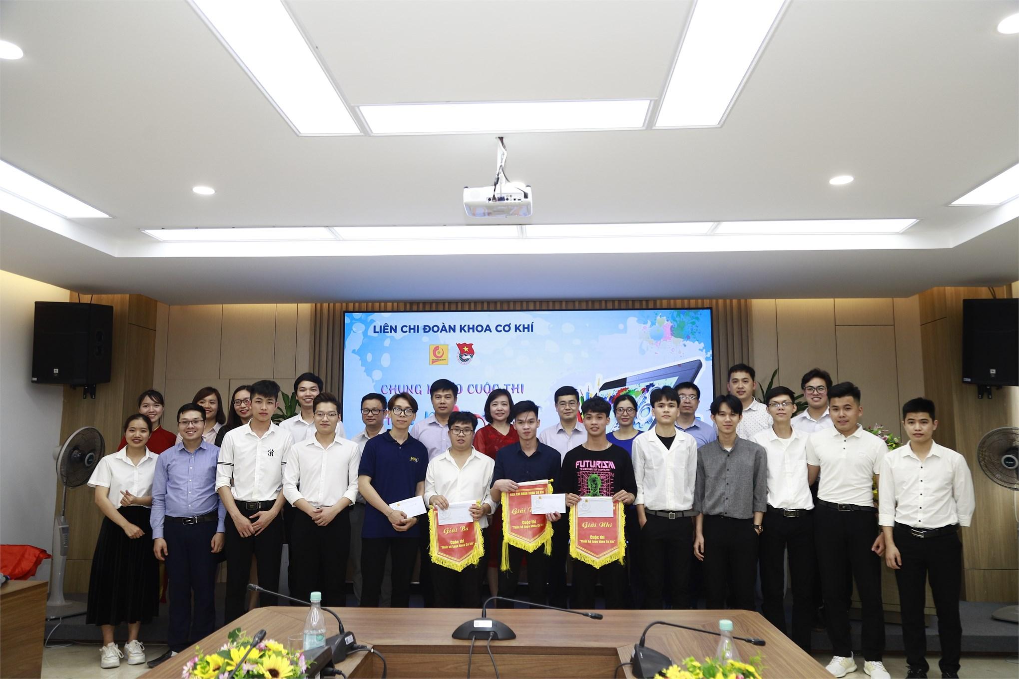 Sinh viên Khoa Công nghệ ô tô giành giải nhất trong cuộc thi thiết kế logo khoa cơ khí