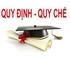 Quyết định sửa đổi, bổ sung một số nội dung của Quy chế đào tạo đại học và cao đẳng theo học chế tín chỉ.